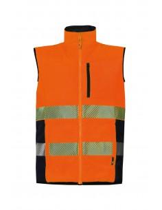Body warmer orange taille L