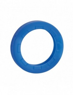 Anneau de clé bleu