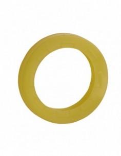 Anneau de clé jaune