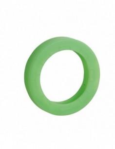 Anneau de clé vert