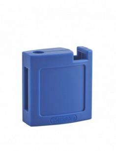 Ensemble coque abs av + ar bleue pour cadenas m3 - 40 mm