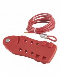 Câble de consignation ajustable Ø 5 mm longueur 2,00 m