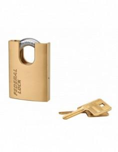 Cadenas à clé 530p anse protégé 60 mm