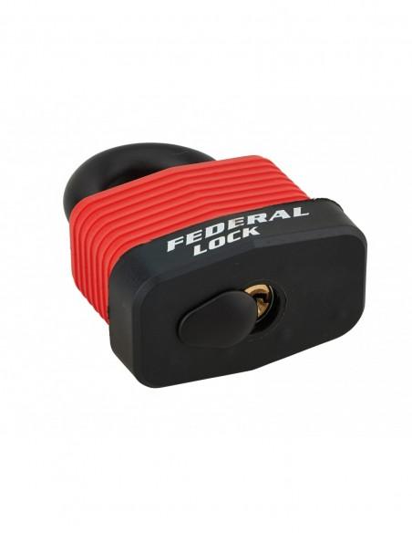 Cadenas à clé BUMPER 54 mm rouge