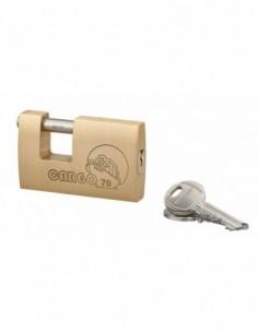 Cadenas à clé CARGO 70 mm hg5