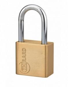 Cadenas à clé CP 50mm - sans cylindre