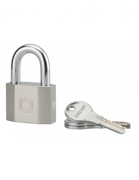 Cadenas à clé OCTO 50mm anse acier 3 clés