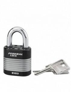 Cadenas à clé PROTECTOR 50 mm