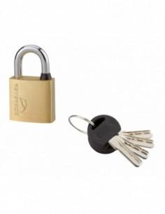 Cadenas à clé REVERSO 30 mm 4 clés réversibles