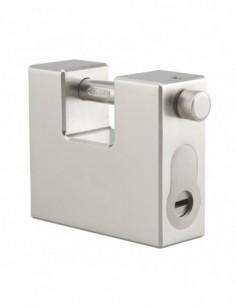 Cadenas à clé THOER 95mm pour cylindre profilé