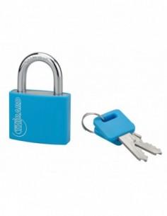 Cadenas TYPE 1 aluminium color 40 mm bleu