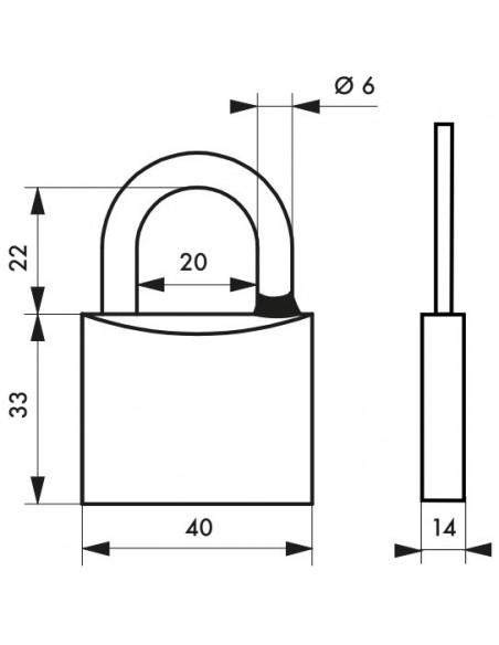 TYPE 1 - 40 mm