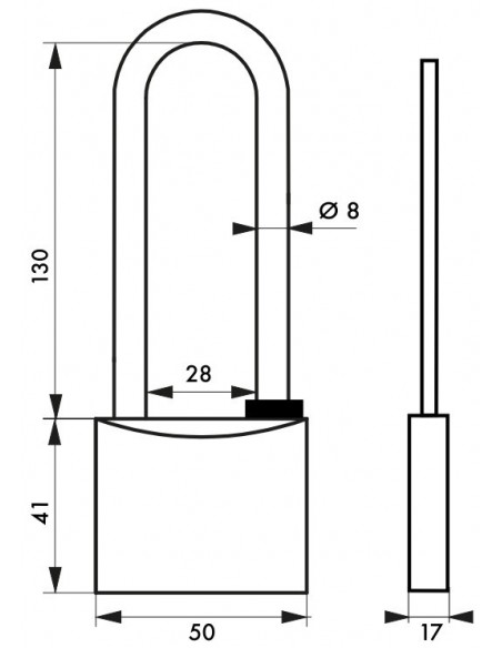 TYPE 1 - 50 mm anse haute