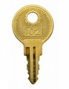 Clé passe pour cadenas à combinaison 037901