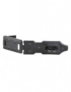 Porte-cadenas recouvrement acier 120 mm