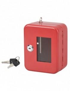 Boite à clé de secours murale - 2 clés - 152 x 118 x 80 mm