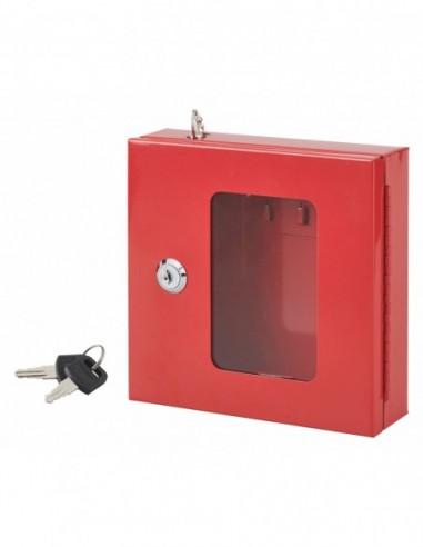 Boite à clés de secours murale - 2 clés - 170 x 175 x 55 mm