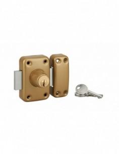 Verrou CAPITAL à cylindre double 40 mm 3 clés
