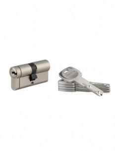 Cylindre 30x30 mm 5 clés longues fonction urgence