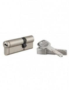 Cylindre 30x60 mm 5 clés longues fonction urgence