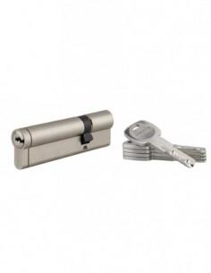 Cylindre 30x80 mm 5 clés longues fonction urgence
