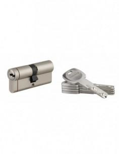Cylindre 35x35 mm 5 clés longues fonction urgence