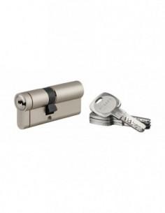 Cylindre 40x30mm snap 30 mm nickelé 4 clé