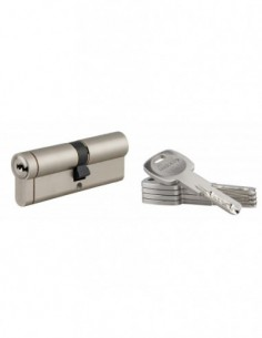 Cylindre 40x50 mm 5 clés longues fonction urgence