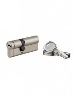 Cylindre 45x30mm snap 30 mm nickelé 4 clé