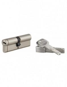 Cylindre 45x45 mm 5 clés longues fonction urgence