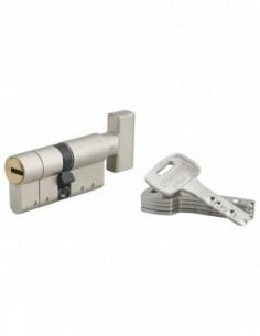 Cylindre federal s - à bouton 32x32mm 5 clés
