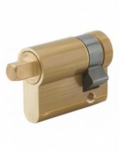 Cylindre profilé carré exterieur 7mm 30x10 laiton