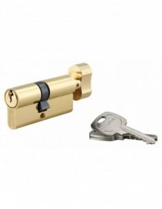 Cylindre à bouton 40 x 30 mm 3 clés