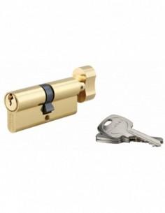 Cylindre à bouton 40 x 40 mm 3 clés