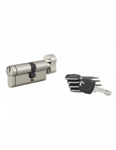 Cylindre hg5+ à bouton 30x40mm 5 clés