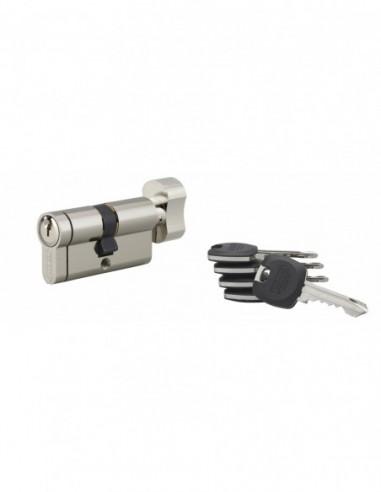 Cylindre hg6+ 31btx31mm 5 clés panneton orientable