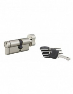 Cylindre hg6+ 31btx41mm 5 clés panneton orientable