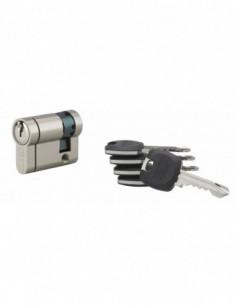 Cylindre hg6+ 31x10mm 5 clés panneton orientable