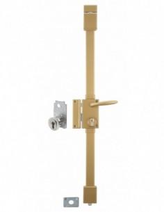 targa bronze cp transit 2 à fouillot 75 x 130 mm gauche 4 clés