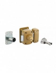 Transit 2 à double cylindre pour porte de 40 à 45 mm a2p*