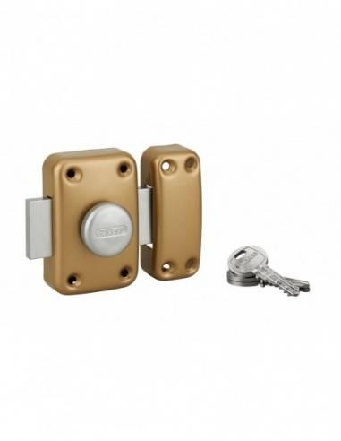 Capital à bouton et cylindre 80 mm