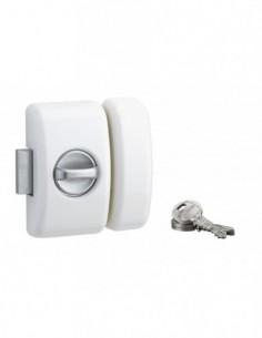 Universel 5 goup. 45 mm blanc 3 clés