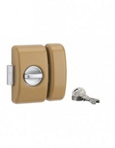 Universel 5 goup. 45 mm bronze 3 clés