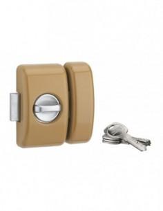 Universel 6 goup. 45 mm bronze 4 clés réversible