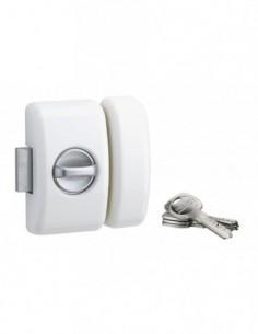 Universel 6 goup.45 mm blanc 4 clés réversible