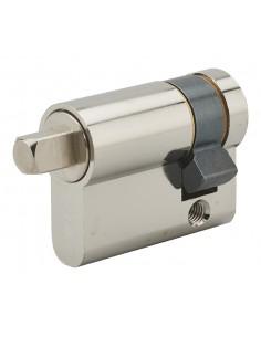 Cylindre profilé carré exterieur 7mm 30x10 nickele