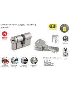 Cylindre Transit 2 MV et FU 40x30 snap côté 30