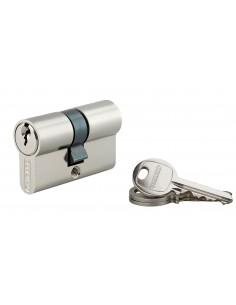 Cylindre 25 x 25 mm nickelé 3 clés