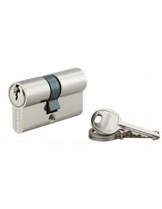 Cylindre 25 x 30 mm nickelé 3 clés