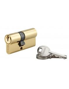 Cylindre 25 x 35 mm laitonné 3 clés